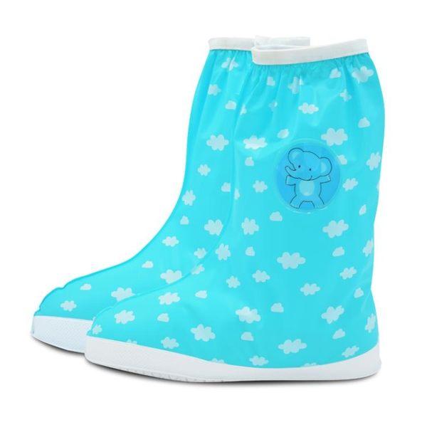 防水鞋套 卡通兒童雨鞋套男女童加厚耐磨防滑防沙腳套小孩學生雨天防水鞋套【韓國時尚週】