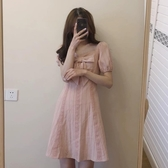 大碼女裝-微胖女孩穿搭顯瘦小香風連衣裙子夏大碼女裝年新款套裝少女感