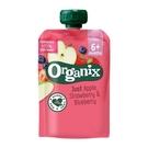 歐佳 Organix 水果纖泥-蘋果草莓藍莓100g(6個月以上)