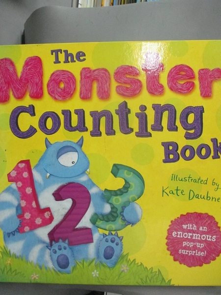 【書寶二手書T8/少年童書_EJG】Monster Counting Book_Kate Daubney