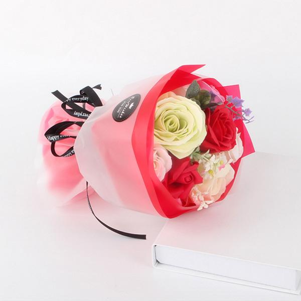 【BlueCat】Best Wishes香皂玫瑰花束 手拿捧花 拍照道具 花束 情人節