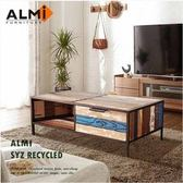 ALMI SYZ RECYCLED- 2 DRAWERS 雙抽咖啡桌