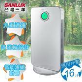 台灣三洋 SANLUX 16坪負離子空氣清淨機 ABC-R16