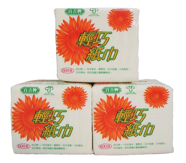 百吉 輕巧 紙巾 (300抽*10包/串)
