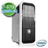 技嘉B360平台【絕凍靈使】i7六核 GTX1050Ti-4G獨顯 1TB效能電腦