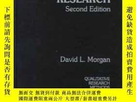二手書博民逛書店Focus罕見Groups As Qualitative Research-焦點小組作為定性研究Y436638