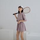 Queen Shop【01085559】MIT 棉質素面寬版圓領套裝 三色售*現+預*