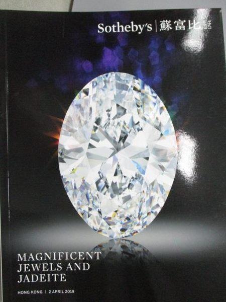 【書寶二手書T4/收藏_YCW】Sotheby s_Magnificent Jewels and..._2019/4/2