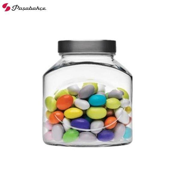 Pasabahce 橢圓形儲物罐 1000cc 密封罐 餅乾罐 糖果罐 玻璃罐 1000ml