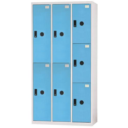 【時尚屋】DF多用途3x6尺鋼製7格置物櫃(免組裝)(免運費)(台灣製)