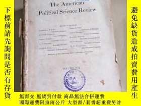 二手書博民逛書店the罕見American Political Science