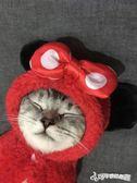 貓衣服 火爆抖音搞笑貓咪衣服秋冬裝幼貓小貓貓寵物加菲貓無毛英短女 Cocoa