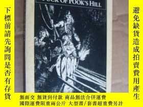 二手書博民逛書店puck罕見of pooks hill(普克山的帕克)英文原版書