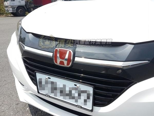 HONDA本田FIT3【紅LOGO標誌-3件式】15-20年FIT3代-3.5代 前後廠徽