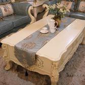 桌巾  歐式桌旗簡約現代中式簡歐茶几布美式床旗餐桌巾電視櫃鞋櫃裝飾布