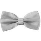 【Alpaca】銀灰色基本款領結
