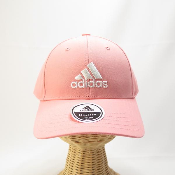 ADIDAS BBALL CAP COT 老帽 棒球帽 運動帽 FK0893 後可調整式 粉色【iSport愛運動】
