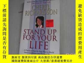 二手書博民逛書店STAND罕見UP FOR YOUR LIFEY18429 BA