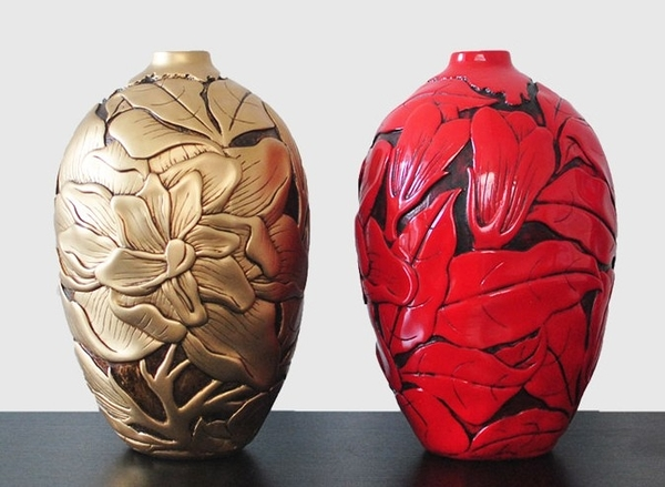 [協貿國際]橢圓形創意花瓶單個價