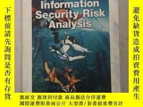 二手書博民逛書店information罕見security risk analysisY163994 Thomas