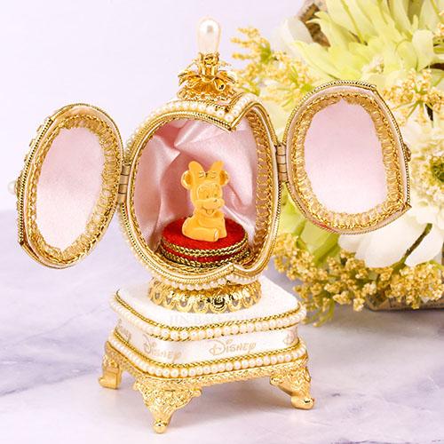 迪士尼系列金飾-黃金藝術蛋雕-開運米妮款
