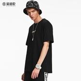 春夏新款韓版寬鬆城市印花短袖T恤創意圖案半截袖體恤 潮流館