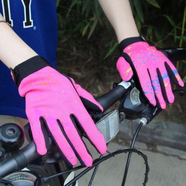 秋冬女士觸摸屏自行車手套 耐磨透氣防滑運動戶外騎行手套SSJJG【時尚家居館】