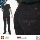 【NST Jeans】特大尺碼 銀翼殺手 洗鍊黑牛仔褲 -中腰直筒 398(3812) 台製 專櫃紳士精品 30-46腰