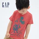 Gap男幼童 Gap x Disney 迪士尼系列透氣短袖T恤 687869-紅色