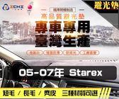 【長毛】05-07年 Starex 避光墊 / 台灣製、工廠直營 / starex避光墊 starex 避光墊 starex 長毛 儀表墊