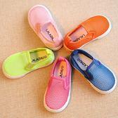 夏季兒童透氣運動鞋網鞋男童涼鞋女童寶寶