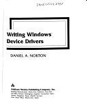 二手書博民逛書店 《Writing Windows Device Drivers》 R2Y ISBN:020157795X│Addison Wesley Publishing Company