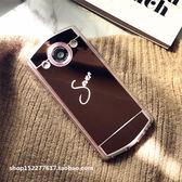 奢華鏡子定制DIY姓名字母美圖M6/M6S手機殼M8S/T8S全包硅膠軟殼潮   享購