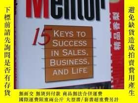 二手書博民逛書店The罕見mentor:15 keys to success i