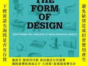 二手書博民逛書店The罕見Form of Design: Deciphering