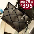 手提包 -現貨販售-側背包 新款韓版黑白...