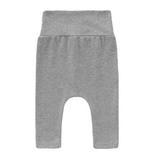 新生兒嬰兒褲子長褲男女寶寶PP褲高腰護肚褲