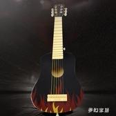 木質兒童玩具吉他可彈奏仿真兒童樂器早教音樂玩具 QW9242『夢幻家居』