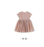 童裝夏季女童連身裙1-3-5歲兒童洋氣網紗公主裙寶寶禮服裙