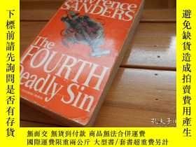 二手書博民逛書店THE罕見FOURTH DEADLY SIN 第四大罪Y1986