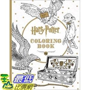 [美國直購] Harry Potter Coloring Book 哈利波特 彩繪書 著色本
