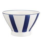 藍黛陶瓷5吋飯碗-直紋