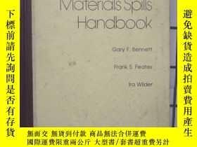 二手書博民逛書店Hazardous罕見Materials Spills Handbook ( 危害物質的散落手冊 )(館藏)外文版