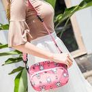 ✭米菈生活館✭【A13-1】多背式印花包 腰包 肩背 側背包 收納袋 旅行 出差 大容量 分類手機