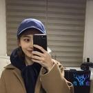 帽子女純色日系棒球帽女夏天百搭學生簡約防曬鴨舌帽男【古怪舍】