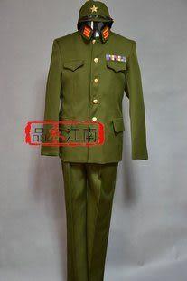 抗戰時期日本軍官軍服裝//JZ006