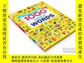二手書博民逛書店DK常用英語1000詞罕見英文原版 1000 Useful Wo