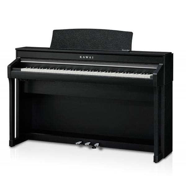 小叮噹的店-KAWAI CA-78 88鍵 滑蓋式 電鋼琴 數位鋼琴 木質琴鍵