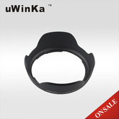 又敗家@uWinka副廠Canon遮光罩EW-60C花瓣遮光罩可倒扣同原廠Canon遮光罩EW60C適EF-S 18-55mm f3.5-5.6 IS USM kit
