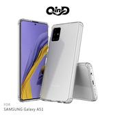 【愛瘋潮】QinD SAMSUNG Galaxy A51 雙料保護套 透明殼 硬殼 背蓋式